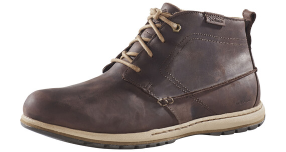 Columbia Davenport Chukka Sko Herrer WP Leather brun